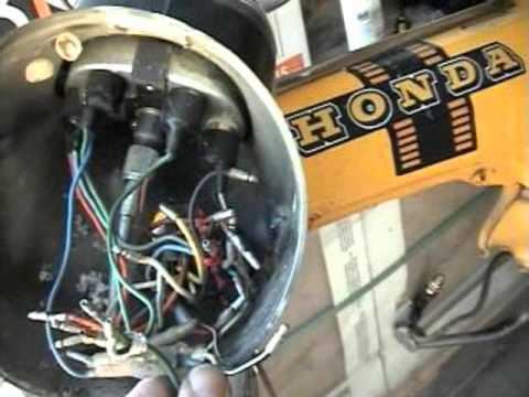 4 Wire Cdi Wiring Diagram Honda St90 St 90 Ignition Switch Removal Information How