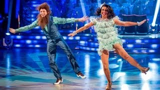 Susanna Reid & Kevin Charleston to 'Bad Moon Rising' - Strictly Come Dancing - BBC One