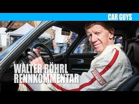 """Walter Röhrl: Rennkommentar aus der DVD """"Walter Röhrl auf dem Nürburgring"""""""