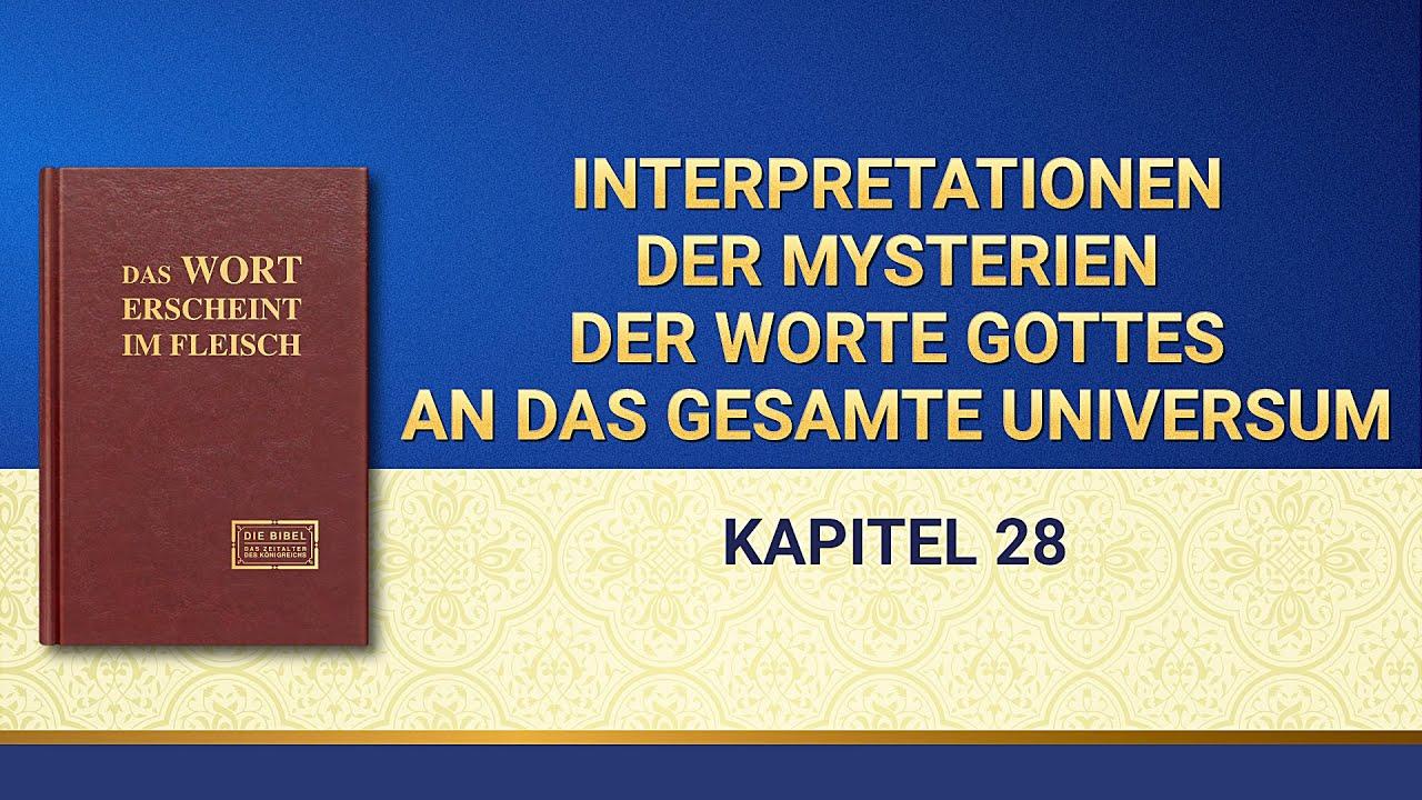 Das Wort Gottes   Interpretationen der Mysterien der Worte Gottes an das gesamte Universum (Kapitel 28)