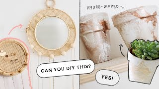 Creating DIY's You DM'd Me! - EASY Home Decor DIY Ideas