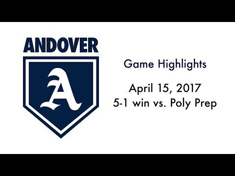 5-1 win vs. Poly Prep (April 15, 2017)