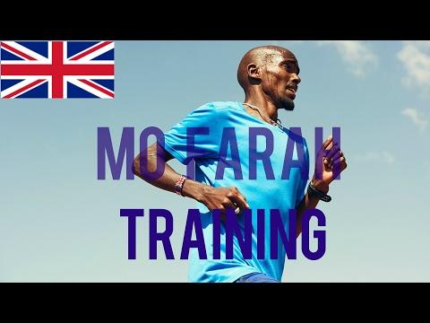 Mo Farah Hard Training