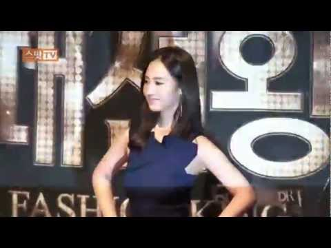 [s] Yuri interview @ Fashion King Press Conference Mar14.2012 GIRLS' GENERATION
