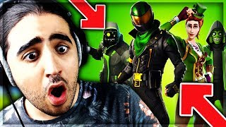 🔴NEW SKIN -EXCLU- SAINT-PATRICK ON FORTNITE (13 top1 ) !!!!!