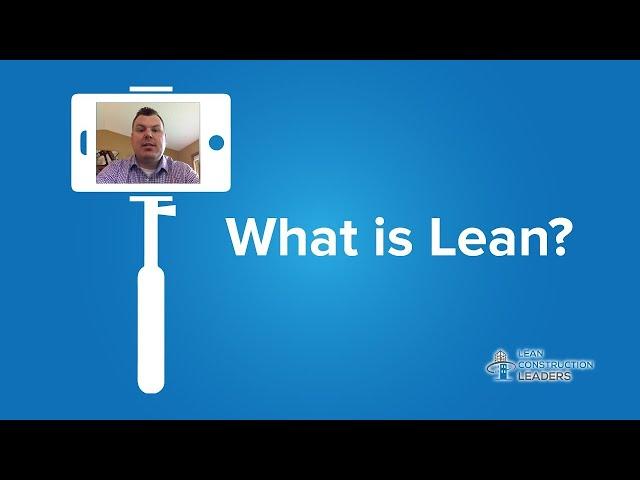 Bryan Bornetun - What is Lean?