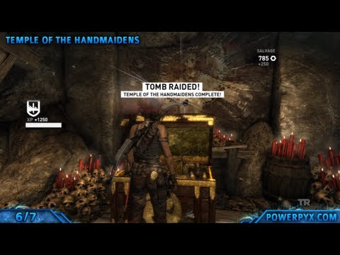 Tomb Raider - All Optional Tomb Locations & Walkthroughs (Intellectually Superior Trophy)