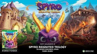 #DirectoXbox Spyro Reignited Trilogy, lo quemamos todo