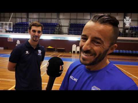 Liga Sport Zone: Apresentação plantel Futsal Azeméis 2018/19