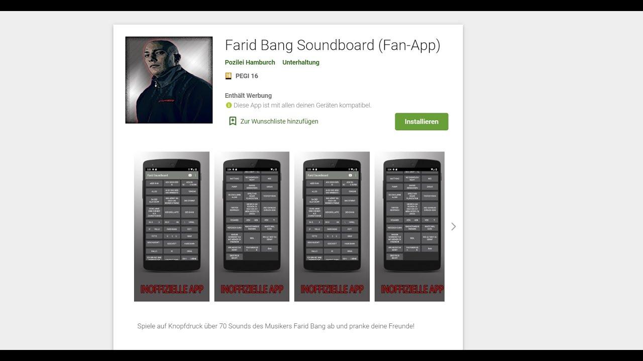 Farid Bang Shop