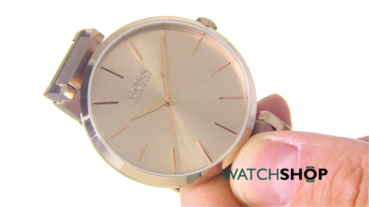 affc56ce8aeb Ladies Hugo Boss Allusion Watch (1502418) | WatchShop.com™