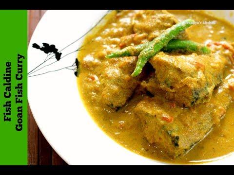 Fish Caldine | Goan Fish Curry | Bangada Fish Curry | Mackerel Fish Curry
