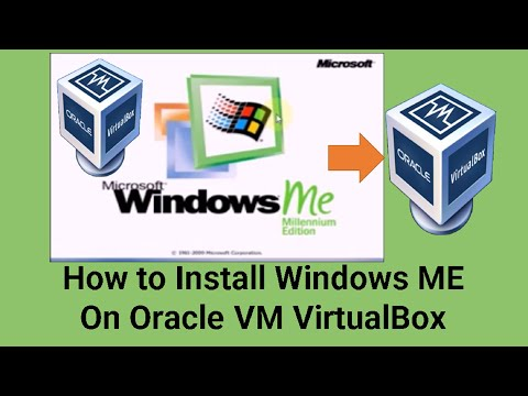 How to Install Windows ME On Oracle VM VirtualBox(2017)