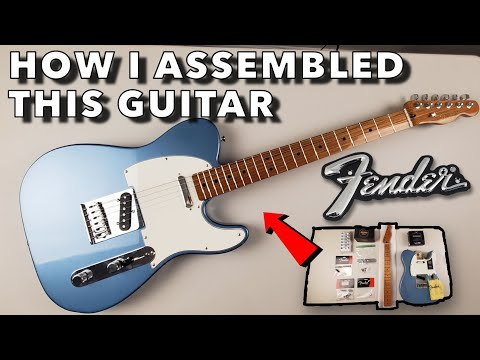 Building A Custom Fender Telecaster With Roasted Maple Neck And Obsidianwire - From Start To Finish!