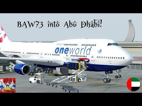 | P3Dv4 | BAW73 into Abu Dhabi! 60FPS