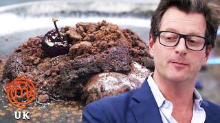 A Collapsed or Deconstructed Chocolate Fondant?  MasterChef UK  MasterChef World