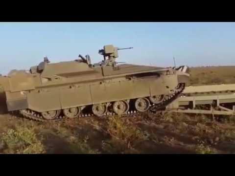 Namer Combat Engineering Vehicle CEV under Operational Evaluation