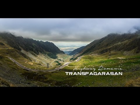 Transfagarasan Highway Romania 4k