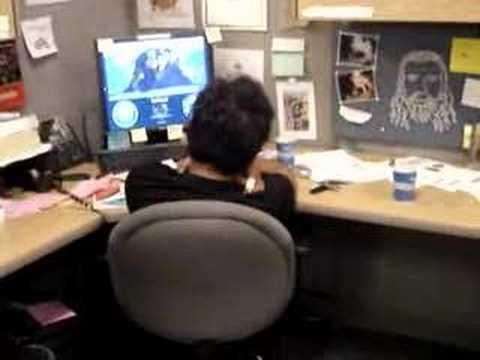 Falling asleep at work - YouTube