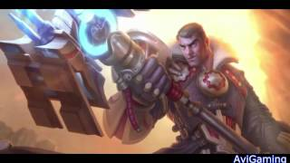 "League of Legends Jayce, ""The Defender of Tomorrow"" Menu Theme Song"
