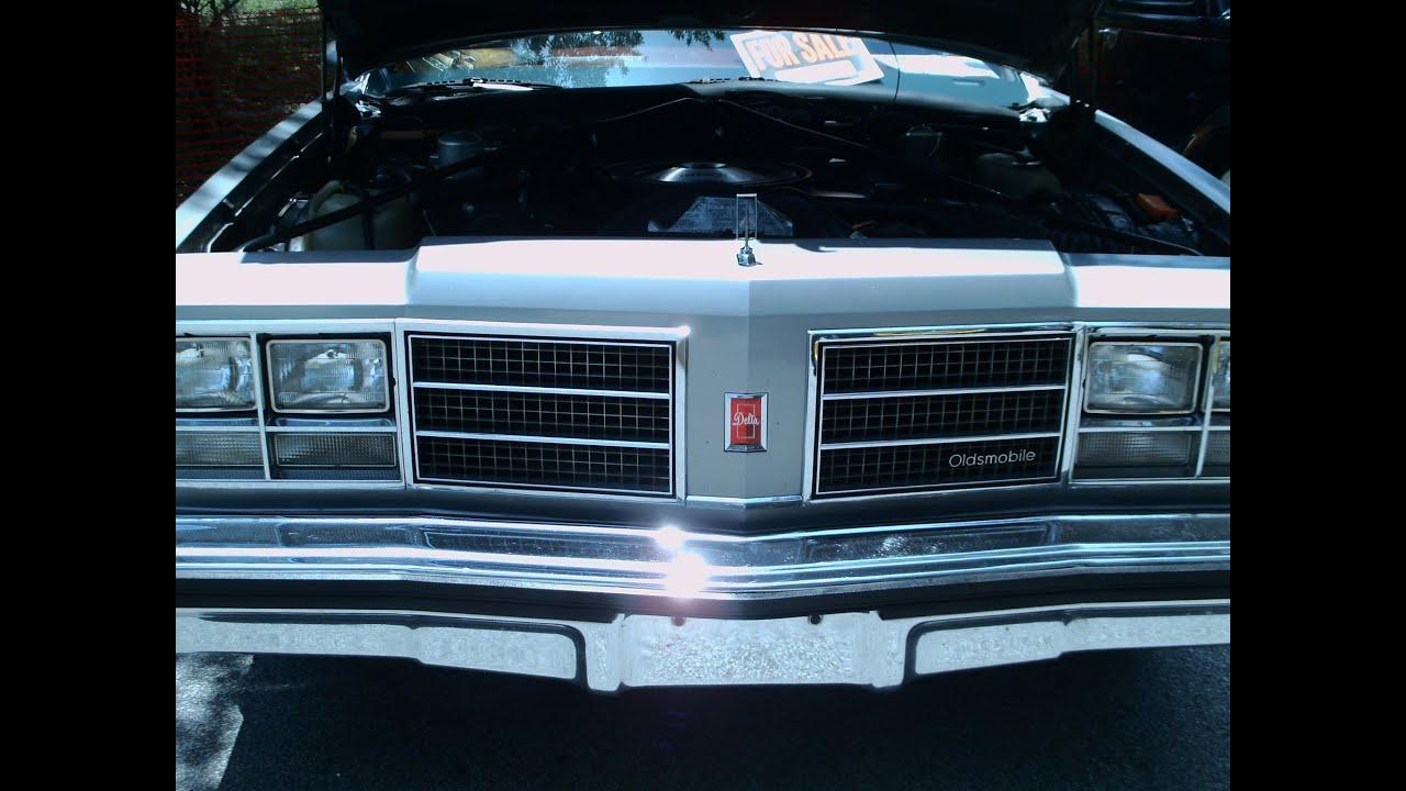 1978 Olds Delta 88 Two Door Sedan Gray Grov070412
