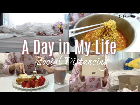 A Day in My Life in Seoul, South Korea🇰🇷 l Social Distancing & Lockdown 한국에 사는 외국인의 일상생활 (Part 1)
