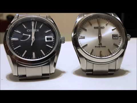 Seiko and Citizen HAQ - Perpetual Calendar and Instant Date Change