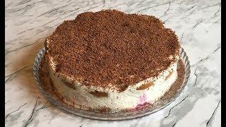 Простейший Торт / Торт из Овсяного Печенья / Торт Без Выпечки / Cake Without Baking / Ленивый Торт
