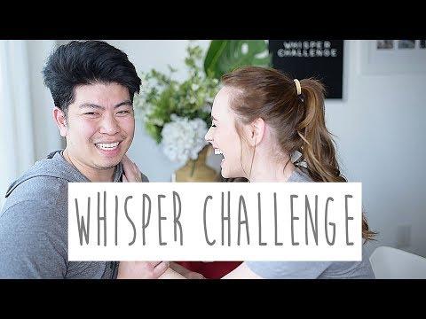 SOUTHERN GIRL VS FILIPINO GUY WHISPER CHALLENGE LEVEL 1