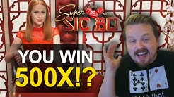 Unexpected HUGE WIN on Super Sic Bo!