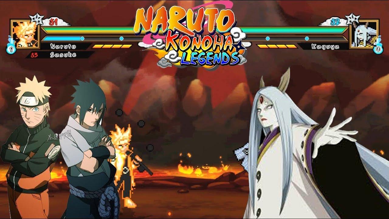 Naruto, Sasuke Vs Kaguya Otsutsuki | Naruto Konoha Legends GamePlay