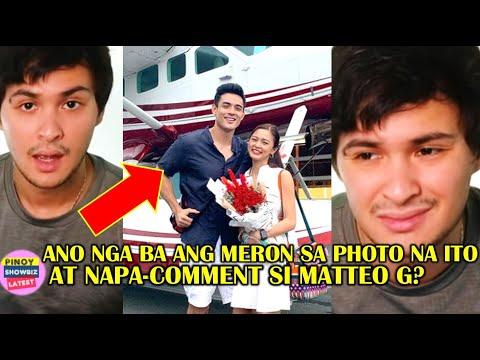 MATTEO GUIDICELLI NABASH MATAPOS MAG-COMMENT SA PHOTO NI KIM CHIU AT XIAN LIM! ALAMIN KUNG BAKIT?