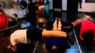 ejercicio multiple de plank