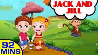 Jack and Jill | More Nursery Rhymes and Baby Songs Compilation | Baby Hazel Nursery Rhymes