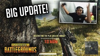 PUBG Xbox BIGGEST UPDATE YET! First Win After Update! (I LOVE the new Scopes!)