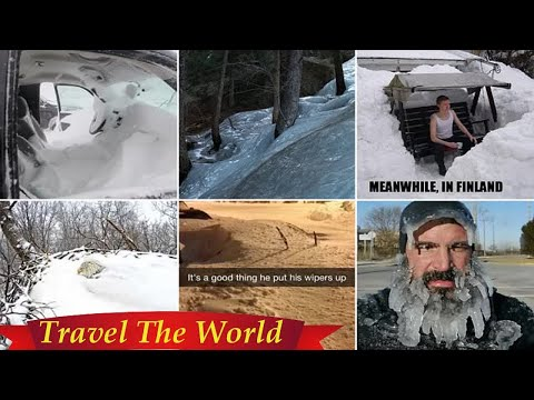 Incredible and hilarious winter pictures  - Travel Guide vs Booking