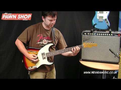 Fender Pawn Shop Guitars Demo - Damon from Fender UK @ Nevada Music