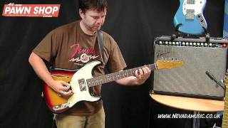Fender Pawn Shop Guitars Demo - Damon from Fender UK @ Nevada Music