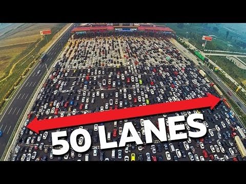 10 Worst Traffic Jams Ever