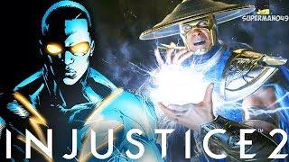Injustice 2: Black Lightning New Super And Raiden Gameplay Breakdown (Injustice 2 Raidend DLC)