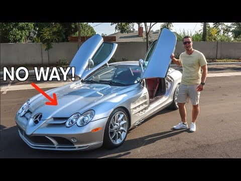 10 Insane Features Of The 450 000 Mercedes Slr Mclaren Youtube