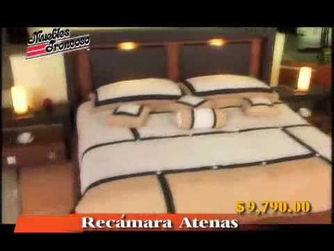Muebles troncoso recamara athenas youtube for Recamaras matrimoniales completas coppel