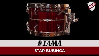 Tama Star Bubinga 5pc Drum Set Dark Red Cordia