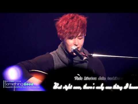 [Kara+engsub] BLOCK B Ukwon - Sakurairo Mauroko (桜色舞うころ) cover