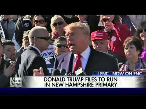 2016 presidential candidates file for New Hampshire primary
