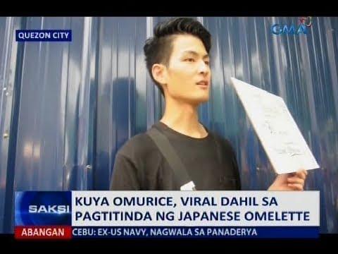Saksi: Kuya Omurice, viral dahil sa pagtitinda ng Japanese omelette