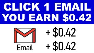 Get Paid To Click On Emails ($0.42 Per Email) Make Money Reading Emails | Branson Tay