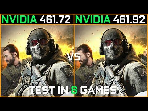 Nvidia Drivers 461.72