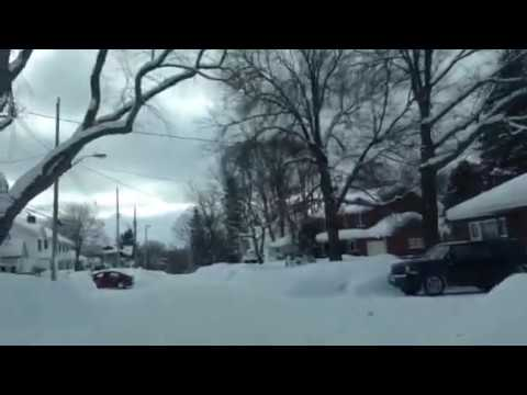 Winter Streets - Sault Ste Marie, Canada (East end)