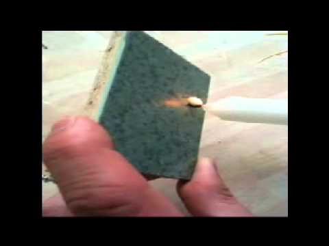 How MMA resin flooring reacts to fire - Part 1